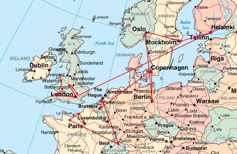 PRG 2009 Western Europe Speaking Tour